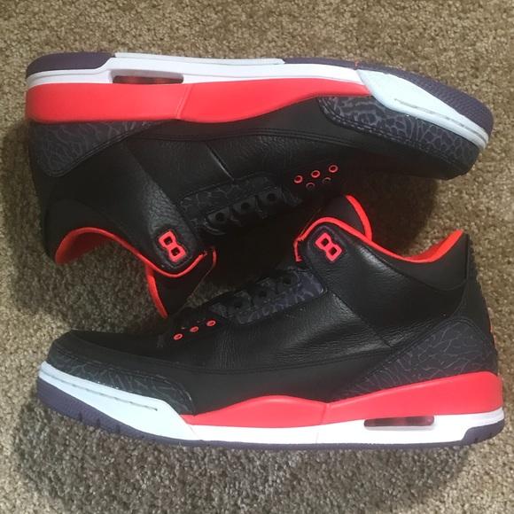 32dcda3f26b269 Jordan Other - Air Jordan 3 Retro Crimson 136064-005 11 Nike OG